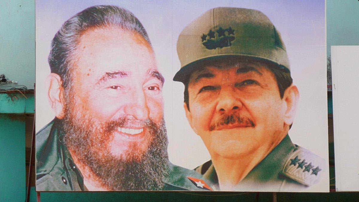 Fidel und Raul Castro