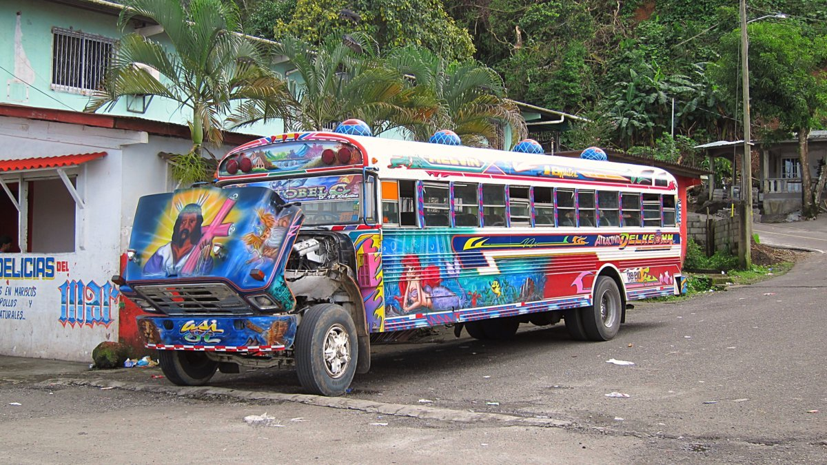 Chicken Bus Panama