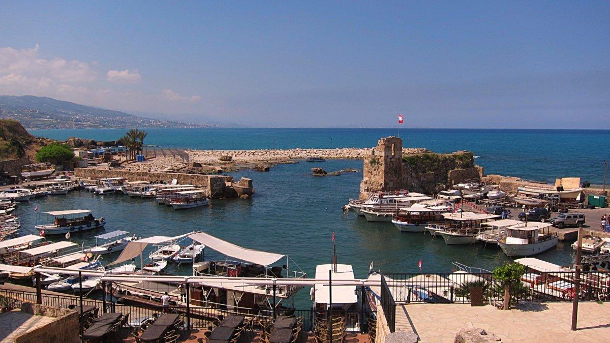 Hafen Byblos