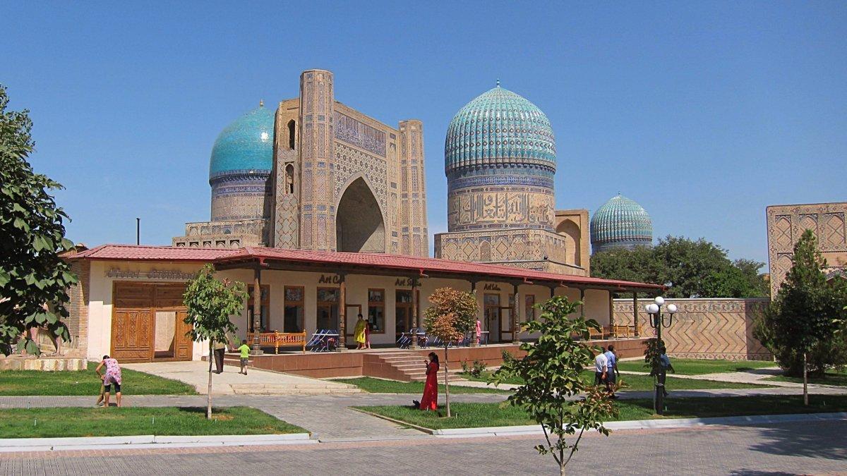 Bibi Khanum Moschee Samarkand